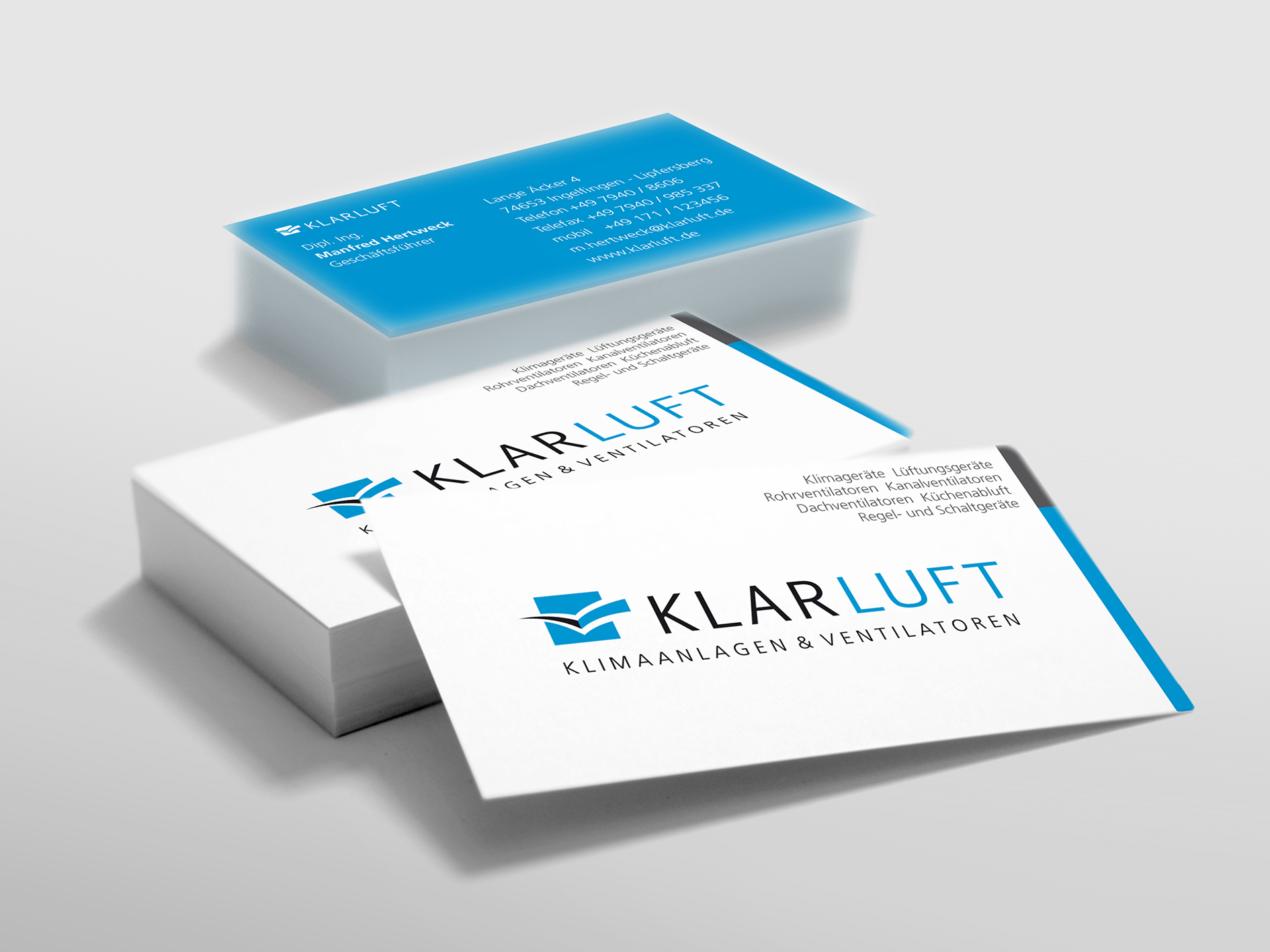 Corporate Design | Klarluft
