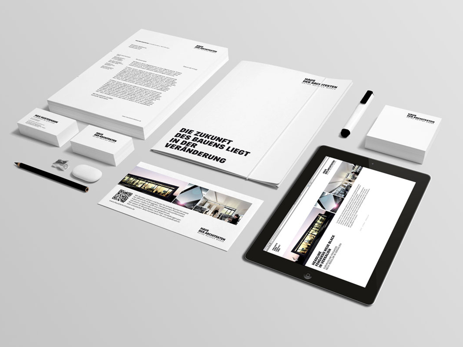 Corporate Identity | Haus der Architekten