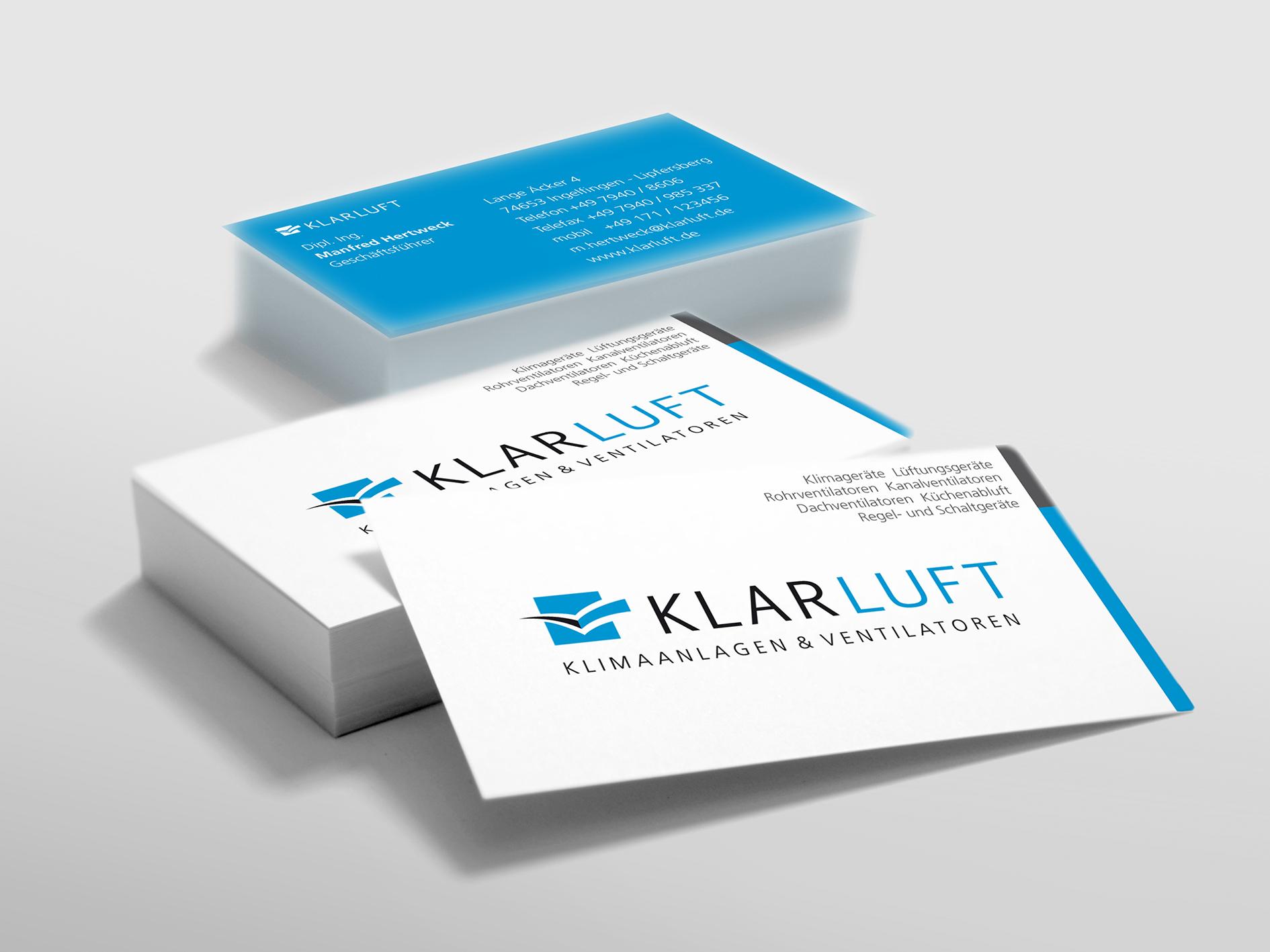 Corporate Design | Klarluft