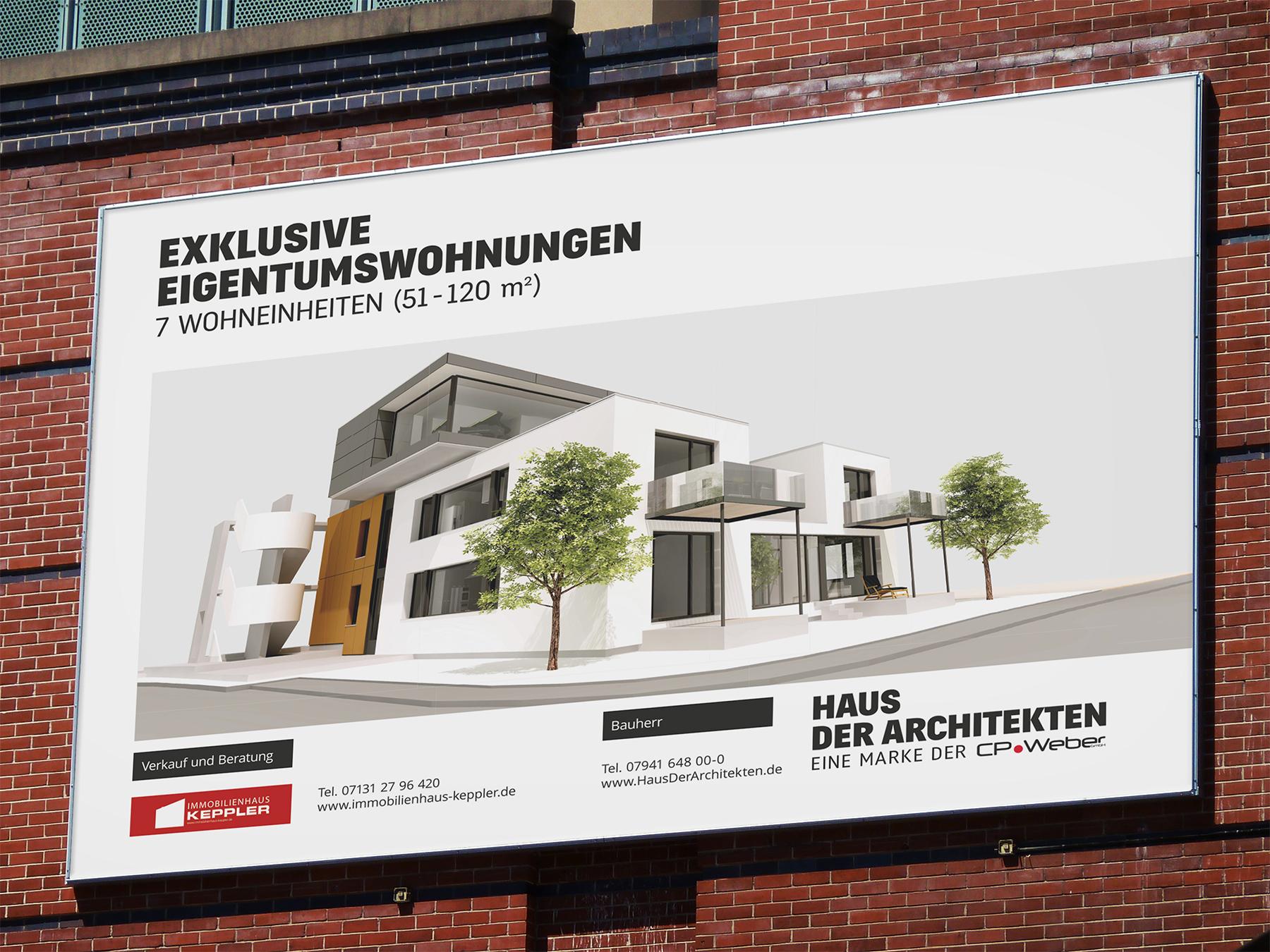 Bautafel | Haus der Architekten